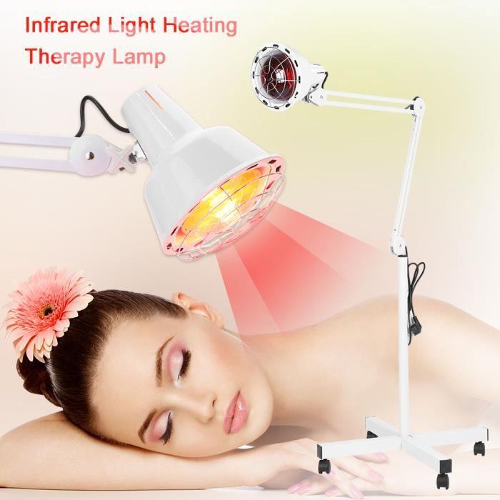 Lampe à Infrarouge Sur Pied, Lampe Infrarouge Massage Thérapie pour Soulagement de Douleur HB009