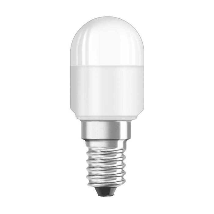 BELLALUX Ampoule LED Mini Tube dépoli radiateur apparent 2,3W=20 E14 chaud x9
