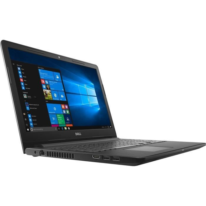DELL PC Portable Inspiron 15-3573 HD TL LCD - 8 Go - Pentium N5000 - 1 To HDD - Graphique intégré - Windows 10