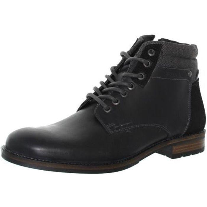 Boots Redskins Pardon en cuir ref_cle44684 gris