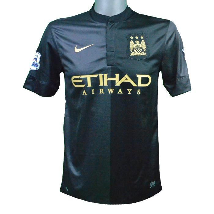Maillot extérieur Manchester City 2013/2014 Agüero