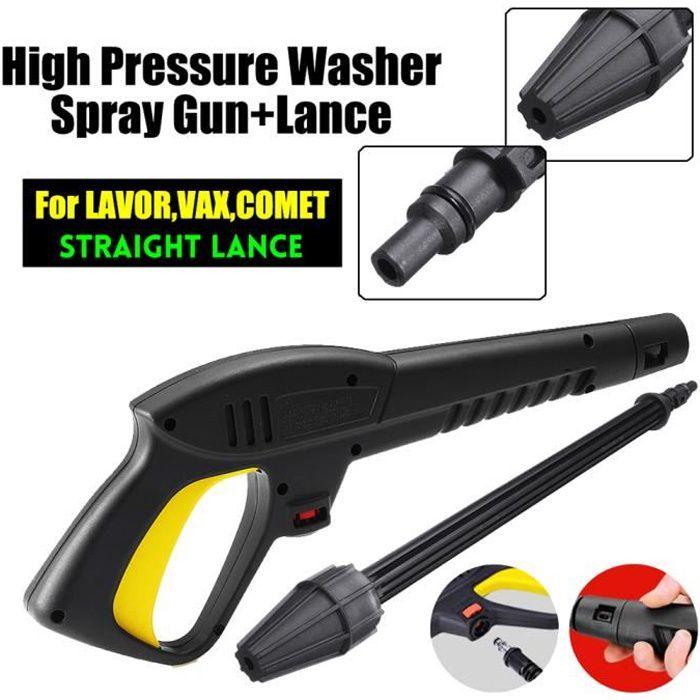 Aramox Laveuse /à pression Pistolet /à eau /à haute pression 16Mpa Pistolet /à eau /à jets deau pour Bosch AQT Black /& Decker