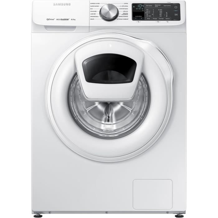 Lave-linge frontal SAMSUNG QuickDrive WW80M645OQM-EF
