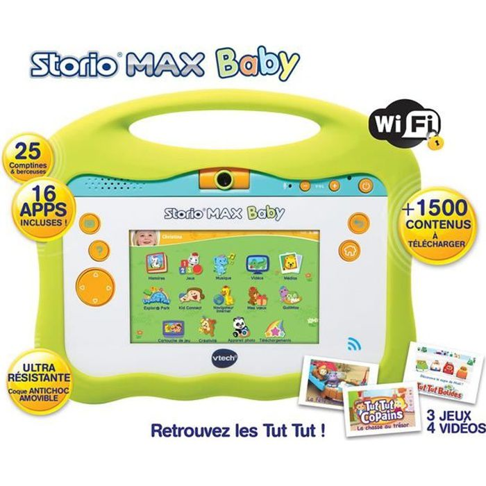 VTECH Baby - Console Storio Max 5\