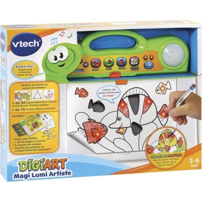 VTECH - DigiArt Magi Lumi Artiste - Loisir Artistique Enfant