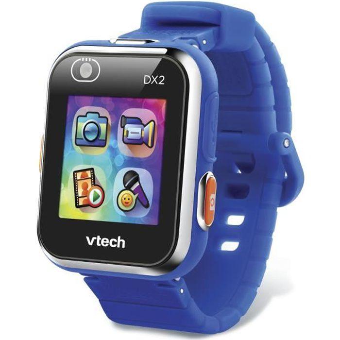 VTECH - Kidizoom Smartwatch Connect DX2 Bleue - Montre Photos et Vidéos