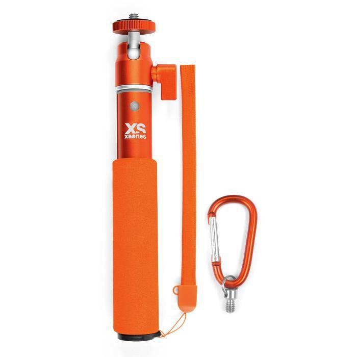 XSORIES Perche Télescopique pour Caméra U-Shot - 49 cm - Orange