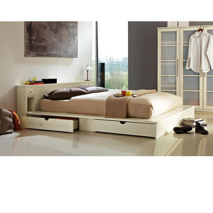 lit t te de lit sommier ontario 140x190 cm achat. Black Bedroom Furniture Sets. Home Design Ideas