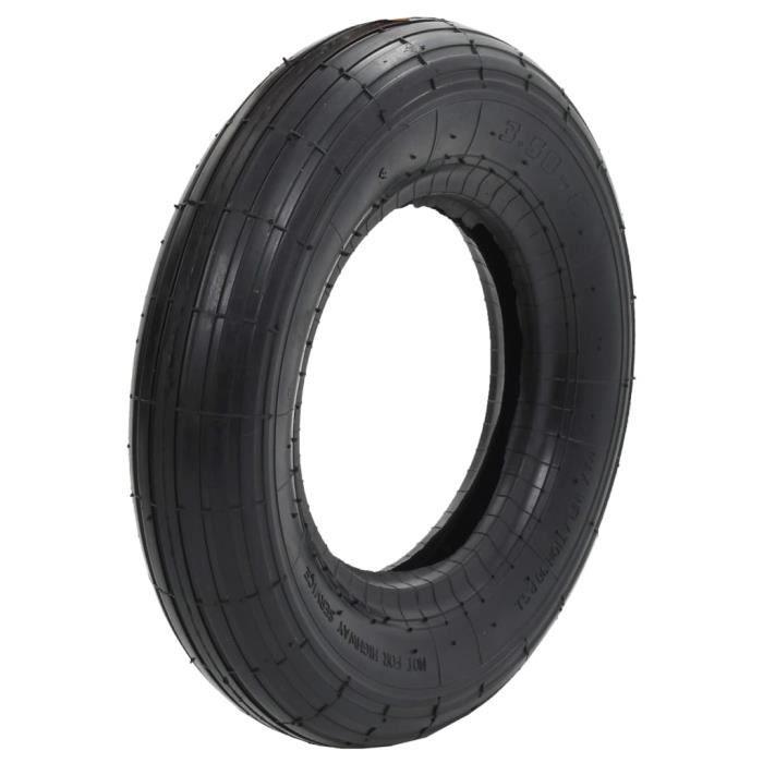 """Pack de 2 jaune 14/"""" brouette roues 3.50-4.00-8 remplacement gonflable pneu"""