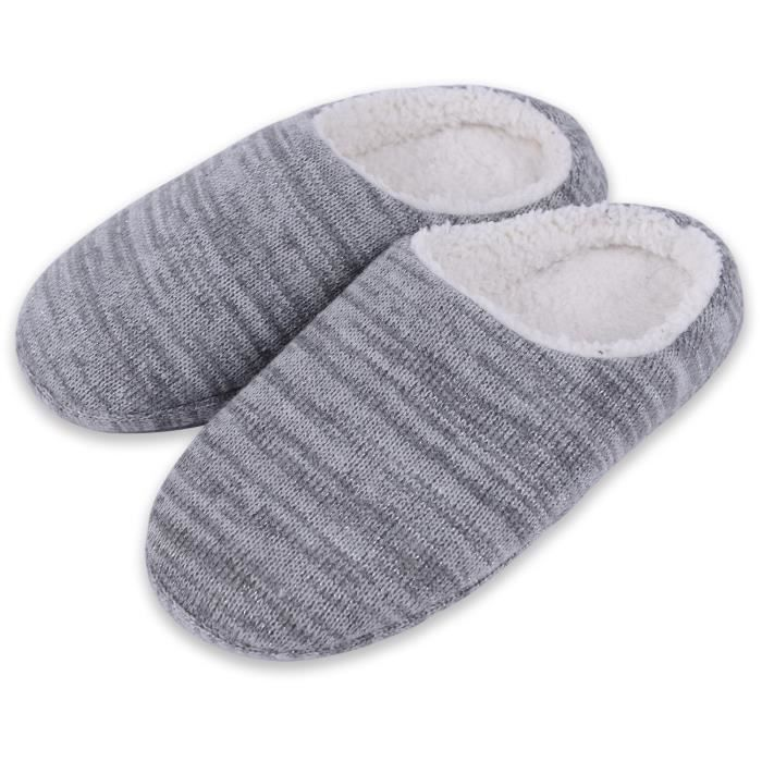 House Outdoor GV76W Taille Gray Cozy Indoor Sole With Slippers 47 Tpr xSZPnqw