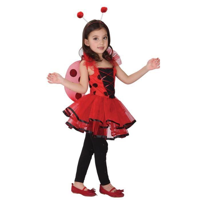 Enfant Ladybird Déguisement Ailes Baguette Et Masque Déguisement Coccinelle Costume