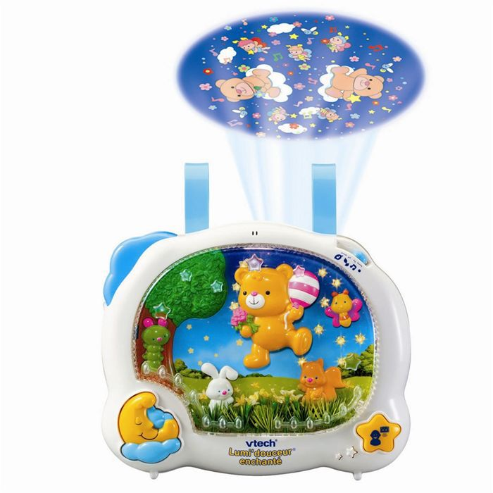 vtech lumi 39 douceur enchant achat vente veilleuse b b. Black Bedroom Furniture Sets. Home Design Ideas
