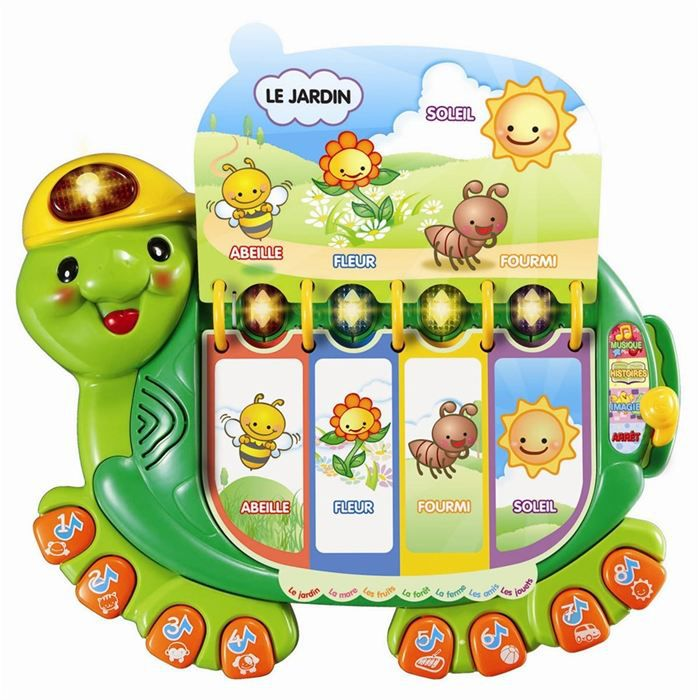 TALKIE-WALKIE JOUET VTECH BABY Ma tortue savante
