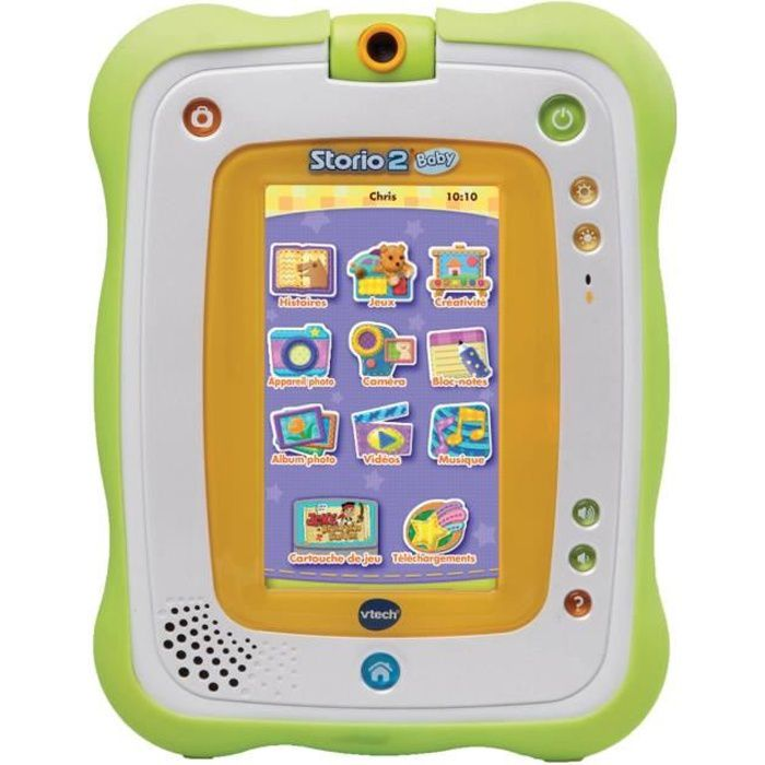 CONSOLE ÉDUCATIVE VTECH BABY Tablette Storio 2 Baby + Coque Offerte