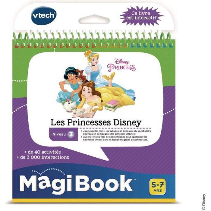 Vtech Livre Interactif Magibook Les Princesses Disney