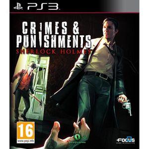 JEU PS3 Sherlock Holmes Crimes & Punishments Jeu PS3