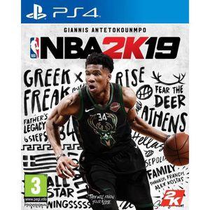 JEU PS4 NBA 2K19 Jeu PS4