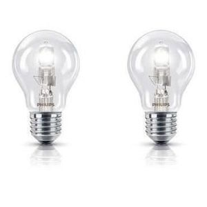 AMPOULE - LED PHILIPS Lot de 2 Ampoules Halogène std 8W E27
