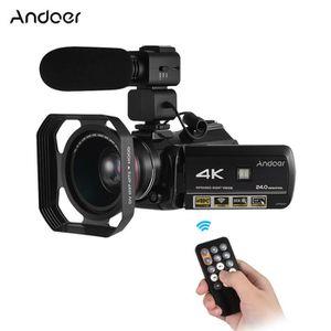 CAMÉSCOPE NUMÉRIQUE Andoer 4K UHD Video Caméra Caméscope DV Enregistre