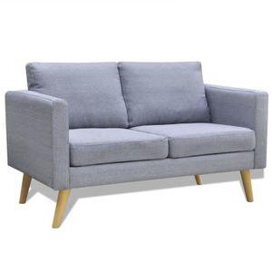 CANAPÉ - SOFA - DIVAN Canapés et divans de Salon Canapé Scandinave 2 Pla