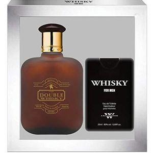 COFFRET CADEAU PARFUM EVAFLORPARIS Whisky Double Coffret Cadeau Eau de T