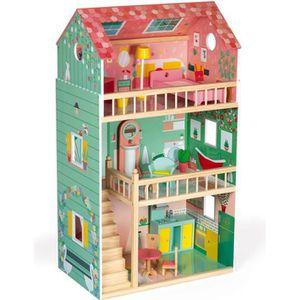MAISON POUPÉE Maison de poupées Happy Day (bois)