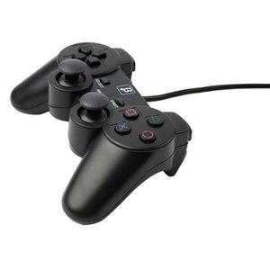 MANETTE JEUX VIDÉO Manette Shock PlayStation 2 / PS2 Noire