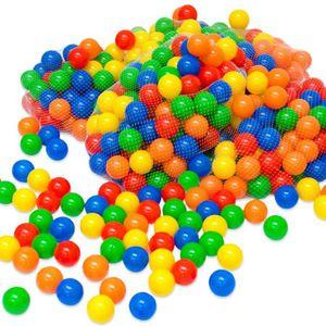 PISCINE À BALLES Balles colorées de piscine 400 Pièces