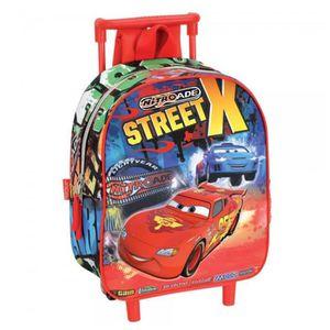 CARTABLE Sac  à roulettes maternelle Cars Disney Street 28