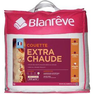 COUETTE BLANREVE Couette extra chaude en microfibre - 220