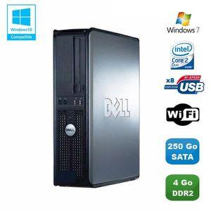 UNITÉ CENTRALE  PC DELL Optiplex 760 DT Intel Core 2 Duo E8400 3Gh