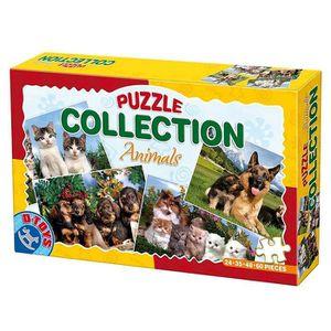 PUZZLE Puzzles de 24 à 60 pièces : 4 puzzles : Chats et c