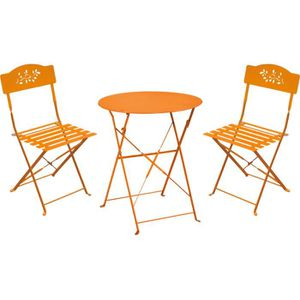 Salon De Jardin Orange Achat Vente Salon De Jardin