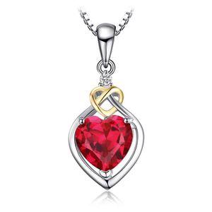 PENDENTIF VENDU SEUL JewelryPalace 2.56ct Collier Pendentif Femme en Fo