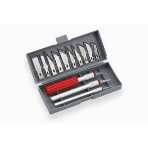 COUTEAUX DE BRICOLAGE MEISTER Jeu 16 couteaux de précision dans boite