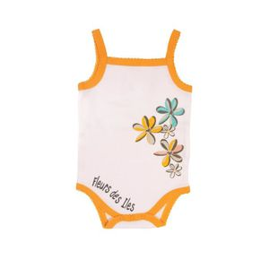 BODY Body bretelles bébé - Fleurs des Îles