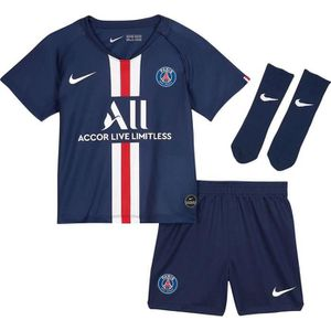 MAILLOT DE FOOTBALL ENSEMBLE PARIS PSG JUNIOR BEBE BLEU TOP 2019/20 ps