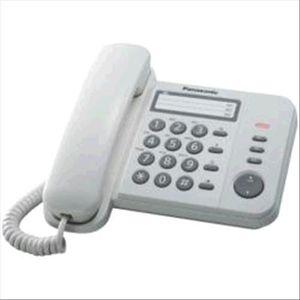 Téléphone fixe TÉLÉPHONE PANASONIC TÉLÉPHONE FIXE KX-TS520EX1W BL