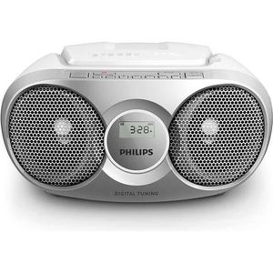 RADIO CD CASSETTE PHILIPS AZ215S - Poste Radio Lecteur CD - Gris