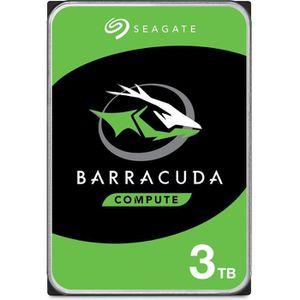 DISQUE DUR INTERNE SEAGATE Disque dur interne Barracuda 3 To - ST3000
