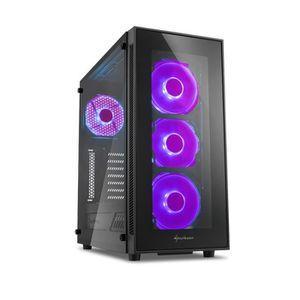 UNITÉ CENTRALE  PC Gamer, Intel i7, GTX1080, 1To SSD, 3To HDD, 32