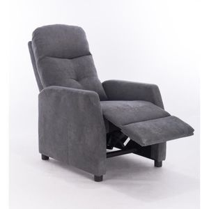 FAUTEUIL Fauteuil Relax Manuel Gris Turin