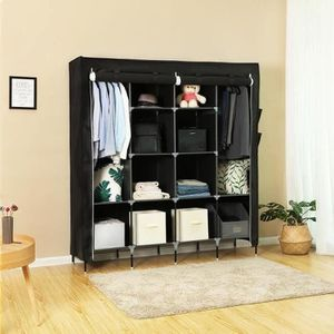 housse penderie tissu achat vente housse penderie. Black Bedroom Furniture Sets. Home Design Ideas