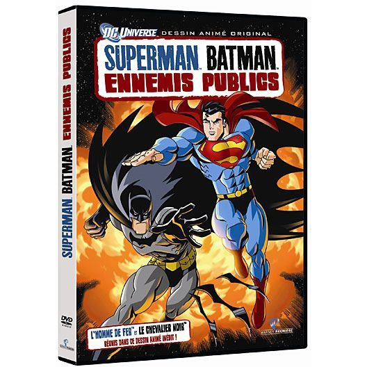DVD Superman / Batman ennemis publics