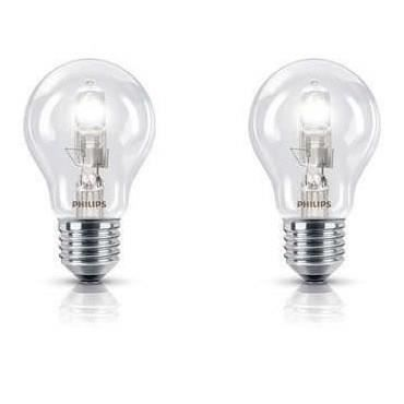 PHILIPS Lot de 2 Ampoules Halogène std 8W E27