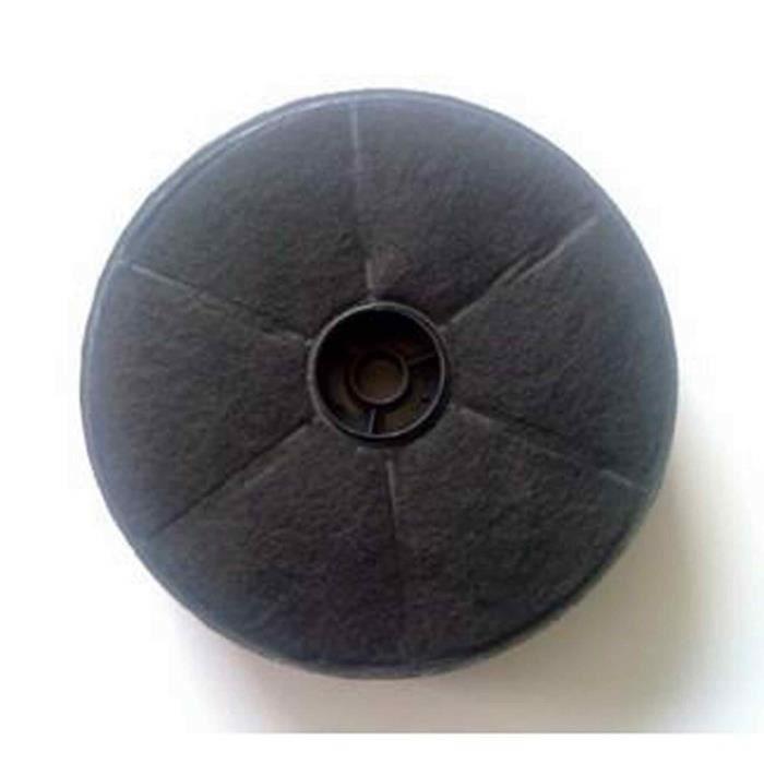 Filtre charbon rond (17,4x4,5cm) (a l'unite) pour Hotte AIRLUX