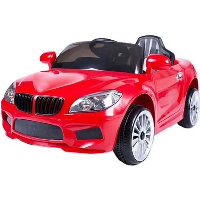 X5 Sedan 12v voiture électrique enfants avec télécommande Rouge - Voiture électrique pour enfant avec batterie 12v et télécommande