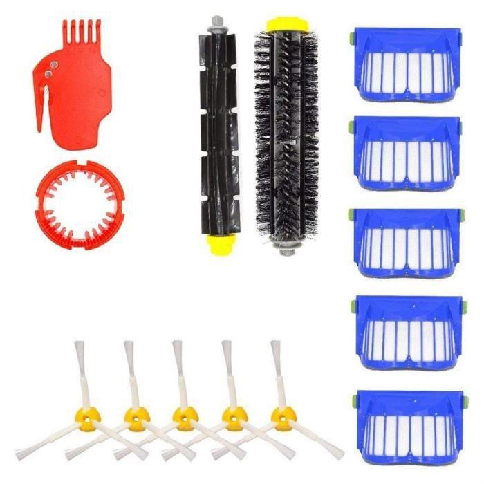 Brosse flexible pour aspirateur Roomba 650 655 660 620 630 645 iRobot Accessoire ZBB81211003