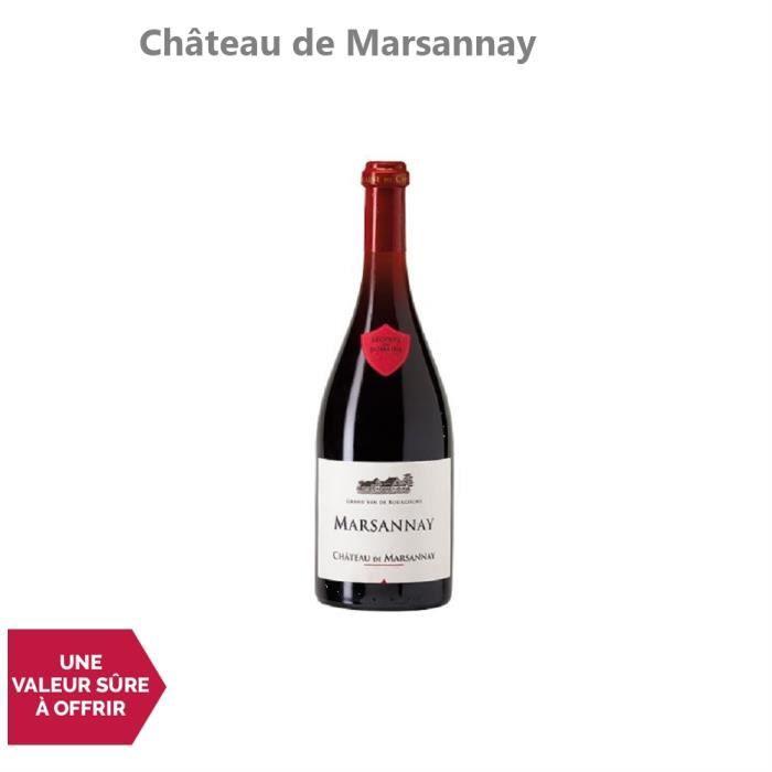 Marsannay Rouge 2014 - 75cl - Château de Marsannay - Vin AOC Rouge de Bourgogne - Cépage Pinot Noir