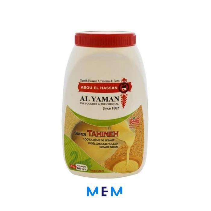 Tahina Premium (crème de sésame) AL YAMAN 907 gr